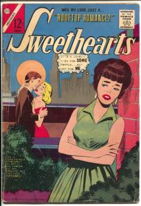 Sweethearts #75 1964-Charlton-swim suit panels-VG