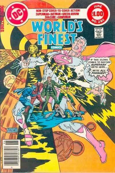 World's Finest Comics #280, VF- (Stock photo)