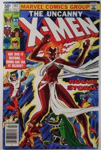 The Uncanny X-Men #147 - Doctor Doom APPEARANCE - Newsstand - NM - Marvel 1981