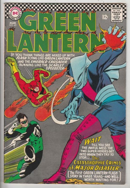 Green Lantern #43 (Mar-66) VF/NM High-Grade Green Lantern
