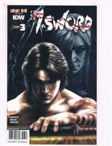 The Seventh 7th Sword # 3 NM 1st Print Variant Cover IDW Darby POP Comic S65