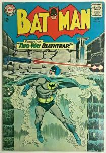 BATMAN#166 VG/FN 1964 DC SILVER AGE COMICS