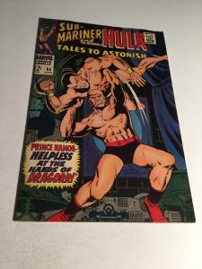 Tales To Astonish 94 Vf- Very Fine- 7.5 Silver Age