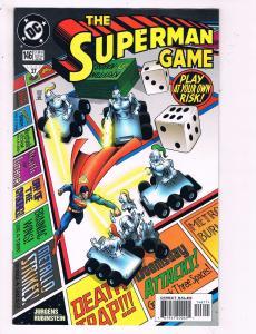 Superman #146 VF DC The Superman Game Comic Book Jurgens Rubenstein 1999 DE10