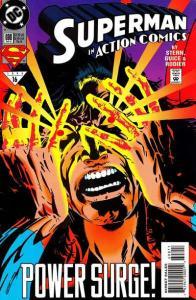 Action Comics (1938 series) #698, VF- (Stock photo)