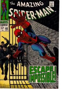 AMAZING SPIDER MAN #65 FINE $35.00