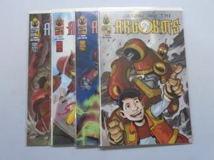 Jason and the Argobots, Set:#1-4, 8.0/VF (2002)