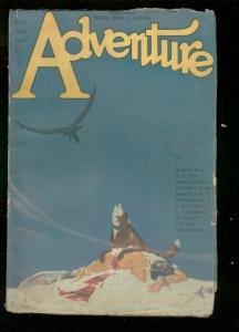 ADVENTURE PULP-7/30 1922-DEATH COVER BY HEURLIN-TUTTLE  G/VG