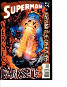Lot Of 2 DC Comic Book Apokolips Now #1 and Superman 10c Adventure KS11