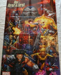 AGE OF APOCALYPSE Promo Poster, 24 x 36, 2011, MARVEL X-men, Unused 217