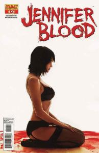 Jennifer Blood (Vol. 1) #12A VF; Dynamite   save on shipping - details inside