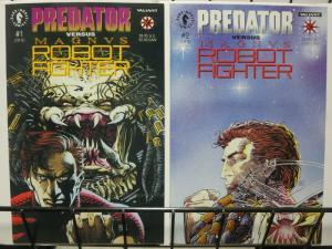 PREDATOR VS MAGNUS (1992 DH/VL) 1- 2