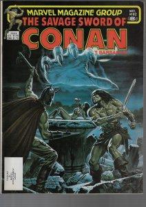 Savage Sword of Conan #82 (Marvel, 1982)