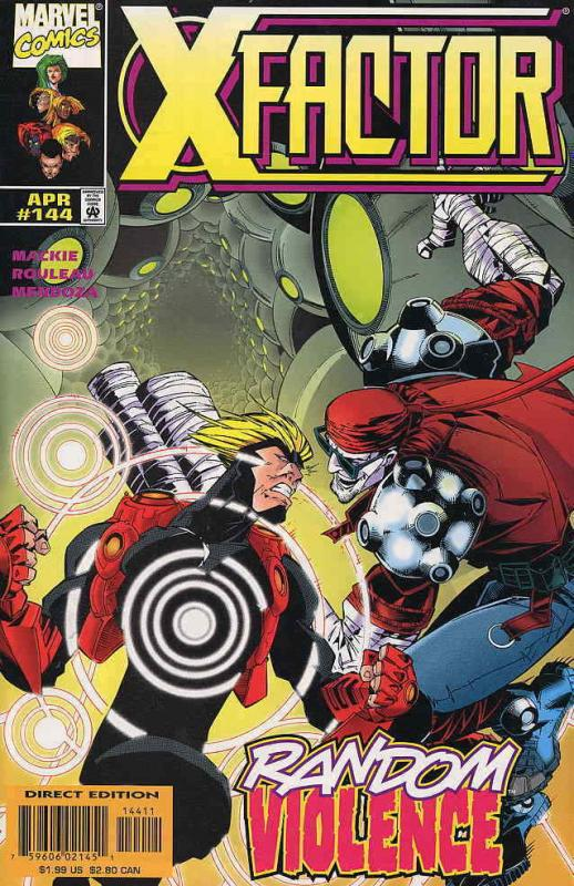 X-Factor #144 VF/NM; Marvel | save on shipping - details inside