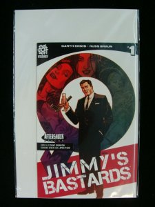 Jimmy's Bastards #1 Ashcan Variant Promo Garth Ennis Russ Braun Aftershock