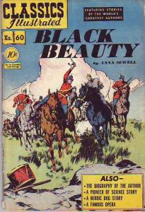 Classics Illustrated #60 (Jun-49) GD/VG Affordable-Grade Black Beauty