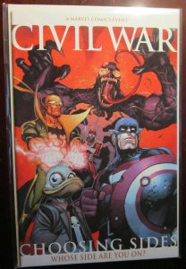 Civil War Choosing Sides (2006) #0A, VF