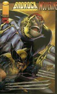Badrock Wolverine #1B 8.0 VF (1996)