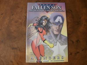 Fallen Son The Death of Captain America #2 (Marvel) 2007 Avengers
