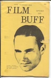 Film Buff  9/1974-William Haines-historic film info-VG