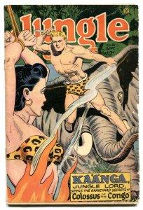 Jungle Comics #81 1946-Kaanga- headlight cover G