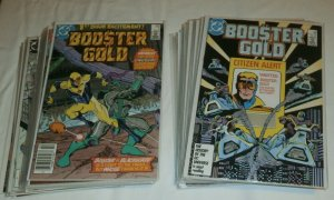 Booster Gold V1 #1-25 (1986) Jurgens run 100% complete lot of 26