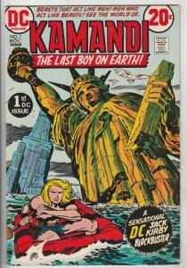 Kamandi the Last Boy on Earth #1 (Nov-72) FN/VF Mid-High-Grade Kamandi