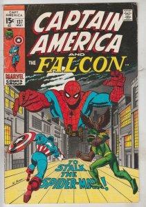 Captain America #137 (Jun-71) FN+ Mid-High-Grade Captain America