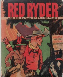 RED RYDER AND THE OUTLAW OF PAINTED VALLEY-WHITMAN-1475 VG/FN