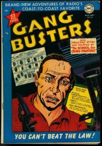Gang Busters #23 1951-DC Comics- Peter Porkchops- Golden Age VF