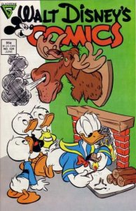 Walt Disney's Comics and Stories #529, VF+ (Stock photo)