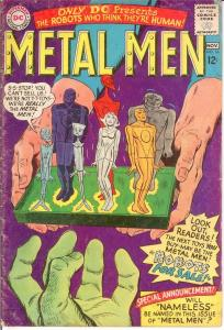METAL MEN 16 G+ Nov. 1965 COMICS BOOK