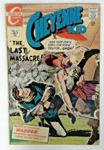 Cheyenne Kid #67  FN+  Charlton Comics 1968  Silver Age  Western Cowboy Comics