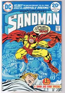 SANDMAN #1, FN+, Jack Kirby, Joe Simon, Dreams, 1974, more JK in store