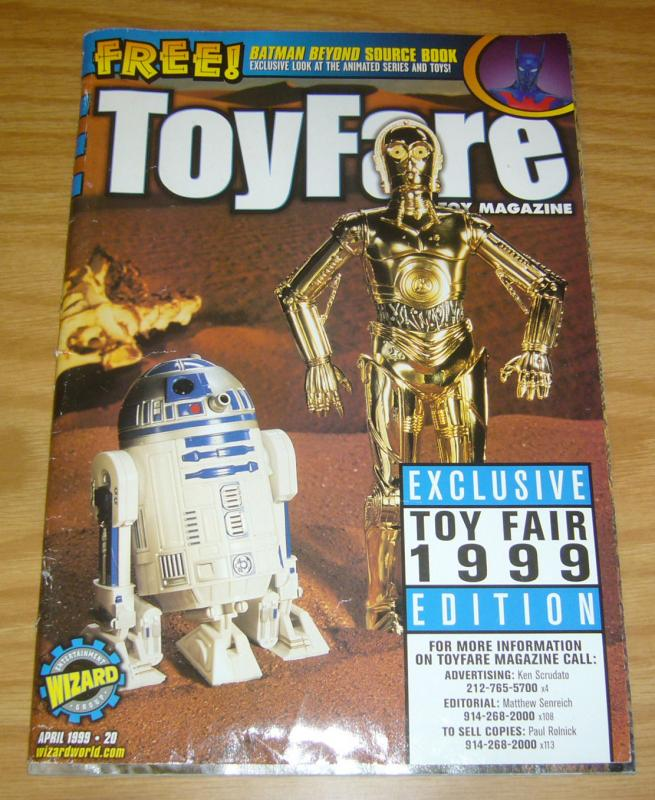 ToyFare #20 VG exclusive toy fair 1999 edition - star wars droids cover