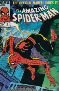 Official Marvel Index to the Amazing Spider-Man #1 VF/NM; Marvel | save on shipp