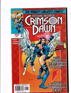 Lot of 4 Crimson Dawn Marvel Comic Books #1 2 3 4 J197