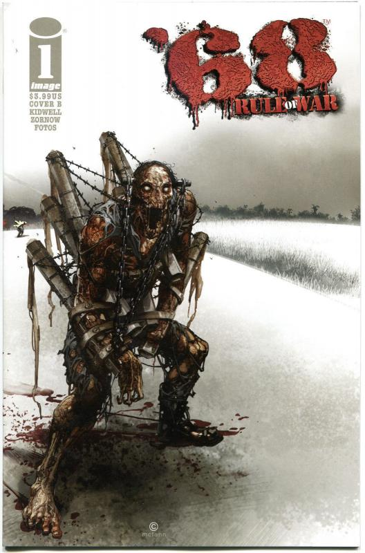 '68 RULE of WAR #1 B, VF,1st Print, Zombie, Walking Dead, 2014, more in store