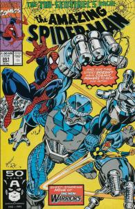 Amazing Spider-Man, The #351 VF/NM; Marvel | save on shipping - details inside