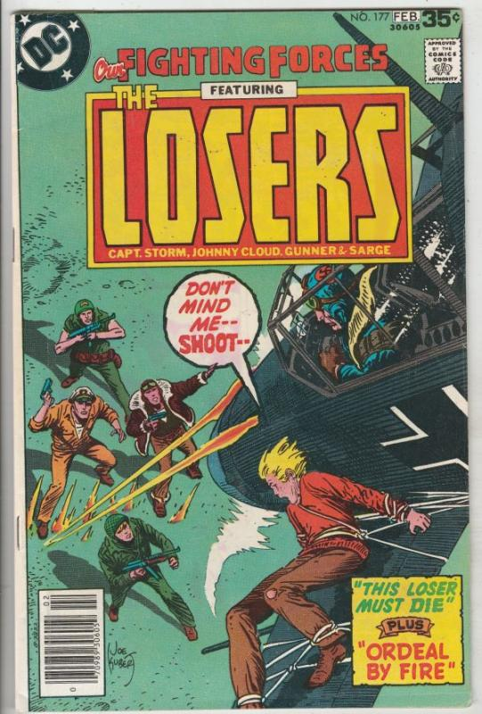 Our Fighting Forces #177 (Feb-78) VF/NM High-Grade The Losers (Capt. Storm, L...