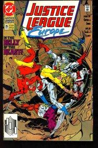 Justice League Europe #25 (1991)