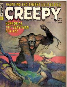 Creepy # 11 VF- Warren Magazine Horror Fear Scary Monsters Suspense Dracula NE1
