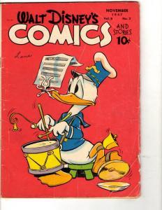 Walt Disney's Comics & Stories # 86 VG Vol. # 8 # 2 Dell Comic Book 1947 JL3
