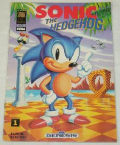 Sonic the Hedgehog (original one-shot) #1 VG; Sega | low grade comic - save on s