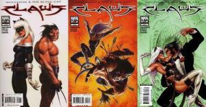CLAWS (2006) 1-3  Wolverine & Black Cat   J.M.Linsner