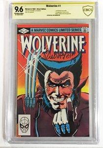 Wolverine #1 (1982) CBCS 9.6 Signature Rubinstein