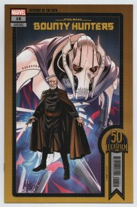 Star Wars Bounty Hunters #16 Sprouse Lucasfilm 50th Variant (Marvel, 2021) NM
