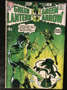 Green Lantern #76 (Apr 1970, DC) **Mega Key** Neil Adams/Denny O'Neil Run