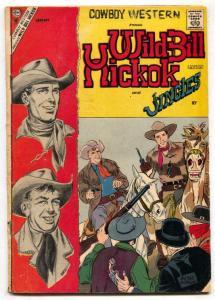 Cowboy Western #66 1958-Charlton- Wild Bill Hickok VG