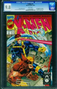 X-Men #1 CGC Graded 9.8 1991 Wolverine cover 0138150004